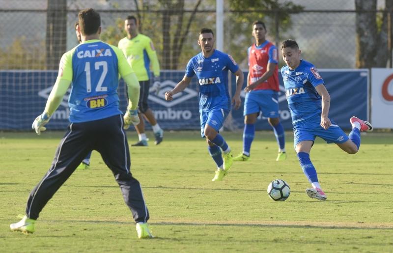 Cruzeiro fecha preparação para o duelo diante do Grêmio