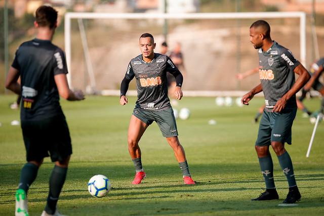 Atlético inicia preparação para estreia na Copa do Brasil